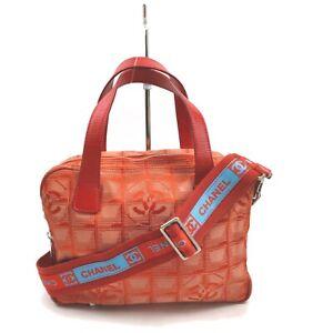 Chanel Shoulder Bag  Reds Nylon 841009