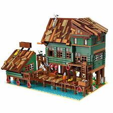 Bausteine Frachtterminal Bau Kreative Große Haus Spielze 2745PCS -30102 OVP