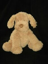 "Jellycat Plush Fuddlewuddle Puppy Dog Tan Light Brown Lovey 9"""