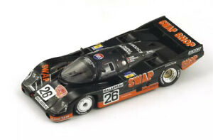 Spark 1984 Porsche 956 #26 LeMans 2nd 1:43 NIB •