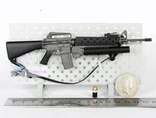 DRAGON 1:6 GUN M16A1 M16 ASSAULT RIFLE M203 Grenade Launcher Predator G_M16A1