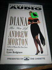 Diana : Her New Life by Andrew Morton (1994, Cassette, Abridged)