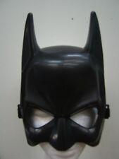 New Adult Mens Ladies Batman Joker The Dark Knight 1/2 Face Black Costume Mask