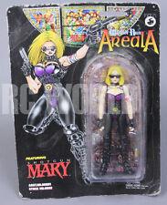 WARRIOR NUN AREALA fusil Mary Veste en cuir noire Edition Figure Neuf!