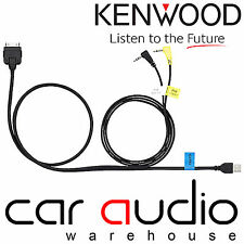 Kenwood KCA-IP302 Car iPod iPhone Direct USB Music & Video Playback  Cable Lead