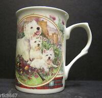 West Highland White Terrier Dog By Mellor Fine Bone China Mug Cup Beaker