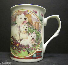 West Highland White Terrier Dog By Mellor Fine Bone China Mug Cup Beaker