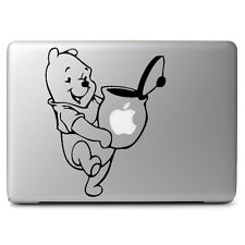 "Pooh Honey Pot for Apple Macbook Air Pro 13 15 17"" Car Window Decal Sticker"
