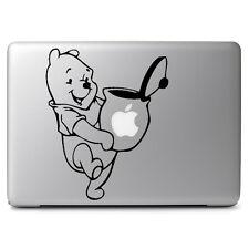 "Pooh Honey Pot for Apple Macbook Air Pro 13 15 17"" Car Window Decal Sticker"