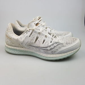 Women's SAUCONY 'Liberty ISO' Sz 11 US Runners White VGCon   3+ Extra 10% Off
