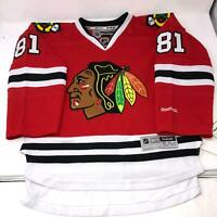NWT Chicago Blackhawks Kids Youth Size Hossa Stitched NHL Reebok Jersey S/M