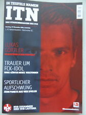 PROGRAMM Stadionheft 16/17 1.FC Kaiserslautern KSC Karlsruher SC 27.11.16 FCK