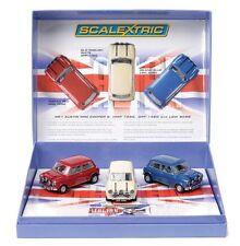"SCALEXTRIC C292A PACK 3 Mini Cooper ""The Italian Job"" 1:32 Ltd.Edition 1493/4000"