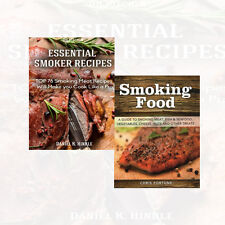 Smoker Recipes 2 Books Collection Set Smoking Food A Guide to Smoking Meat New