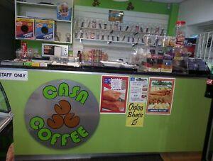 Cafe Coffee Shop Restaurant Counter