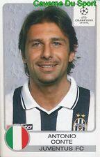 145 ANTONIO CONTE ITALIA JUVENTUS STICKER PANINI CHAMPIONS LEAGUE 2001-2002