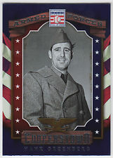 HANK GREENBERG 2015 Panini Cooperstown Baseball Armed Forces #6 Tigers N15