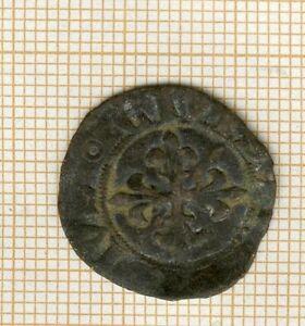 Charles VI 1380-1422 Denier Parisis