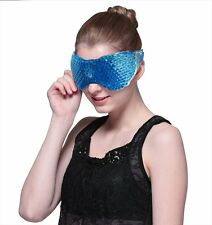 Hot Cold Eye Mask with Flexible Gel Beads, REUSABLE, Perfect Compress, pLYWT