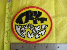 Vintage Try It You'll Like It Hat Patch
