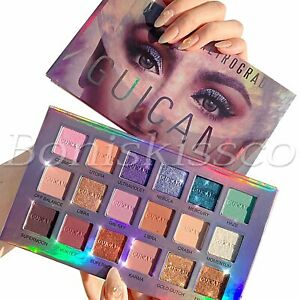 18 Colors Eyeshadow Palette Makeup Matte Shimmer Eye Shadow Cream With Mirror