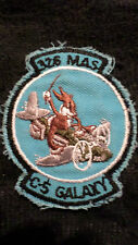 Vintage 326th MAS C-5 Galaxy original Military issue patch- badge- Used Cond