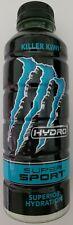 NEW MONSTER HYDRO SUPER SPORT KILLER KIWI DRINK 20 FL OZ FULL BOTTLE FREE SHIP