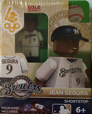 Jean Segura MLB Milwaukee Brewers Oyo Mini Figure NEW G3 Brewer Logo RARE