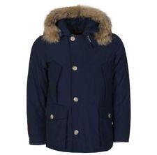Woolrich Luxury Arctic Anorak Parka Navy Blue WWCPS1727