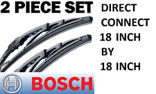 GENUINE Bosch Windshield Wiper Blade-Direct Connect 40518 SET OF 2 PAIR 18""