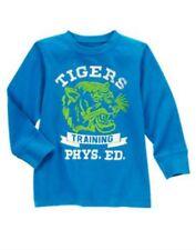 NWT Gymboree Boys Mr. Magician Tigers Blue Shirt Size 7