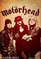 "MOTORHEAD ""GROUP SHOT"" COMMERCIAL POSTER-Lemmy Kilmister,Mikkey Dee,Phil Campbel"