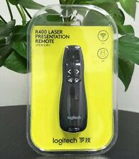Logitech R400 Wireless Presenter W/laser Pointer Receiver & Case