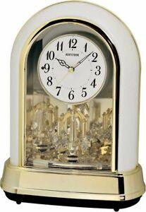 Crystal Dulcet II (Pearl) Musical Clock by Rhythm 4RH794WU03