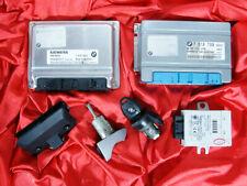 BMW E46 E39 E53 3 5 X5 series 3.0i M54 ENGINE DME MS43 EGS EWS3 LOCK KEY ECU SET