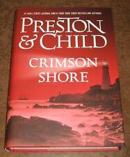 CRIMSON SHORE Preston & Child HC/DJ Pendergast SIGNED BY BOTH