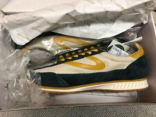 Tretorn Mens Shoes 10.5 US Rawlins 2 Jungle 18 Sneakers Nude Grey/honey Mustard