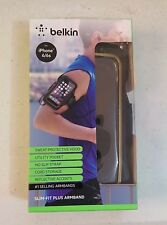 Belkin Slim-Fit Plus Armband for iPhone 6 / 6s Black with Gold Trim (#2)