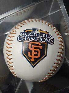 San Francisco Giants World Series MLB Champions 2010 Baseball Rawlings cubed