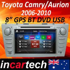"8""Head Unit GPS Sat Nav Radio Stereo DVD Bluetooth Toyota Camry/Aurion 07-11 AUS"