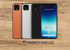 Google Pixel 4 XL G020J 64GB/128GB Unlocked Smartphone Great