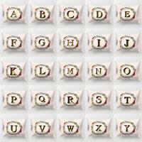 Eg _ Ghirlanda A-Z Lettere Cuscino Decorativo Custodia Copricuscino Arredo Casa