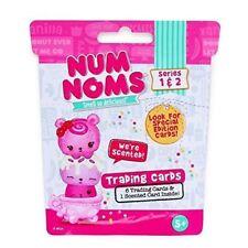 Num Noms Trading Cards Blind Bag Series 1 & 2 24 Sealed Packs