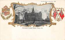 TRURO, NOVA SCOTIA, CANADA, NORMAL SCHOOL, FLAGS, WARWICK BROS PUB used 1906