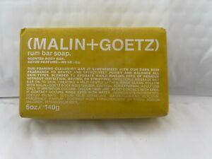 MALIN+GOETZ Rum Bar Soap 140g/5oz Womens Perfume New