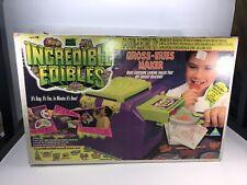 1994 Toymax Incredible Edibles Sealed Thingmaker Goop Gross Eeries Maker