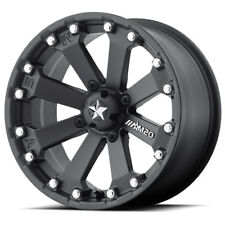 MSA Wheels M20 Kore Matte Black 14x7|4x156|0OS|4+3BS