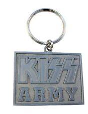 Kiss-Kiss Army logo blocco-KEYCHAIN-PORTACHIAVI-NUOVO - Merchandise