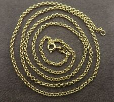 "9ct Gold Belcher Chain  20 "", 22"" & 24"""