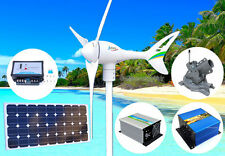 Apollo 12V 550W Wind Turbine Generator+Controller+Solar Panel+Mount+Dumpload